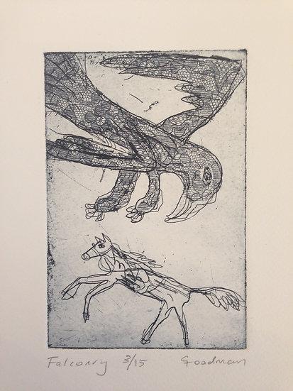 Falconry by Gary Goodman