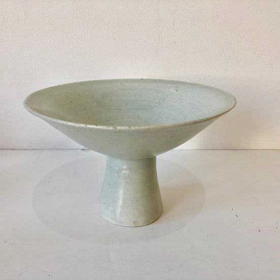 Celadon Pedestal Bowl by Bernard Leach
