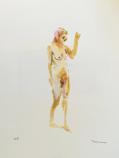 Nude Study V by Phil Tyler