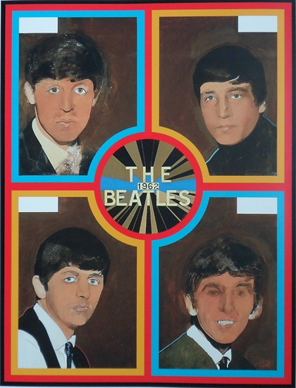 The Beatles 1962 by Peter Blake