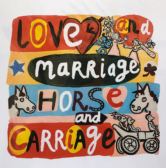 Love and Marriage Card by Jo Lamb
