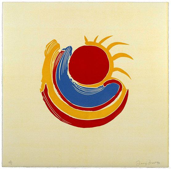 Trewellard Sun #7 by Terry Frost