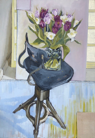 Evertaut 1930's Chair & Flowers V