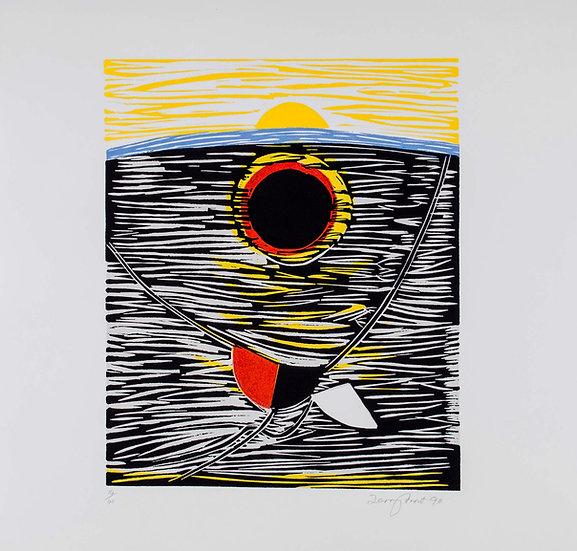 Trewellard Sun #2 by Terry Frost