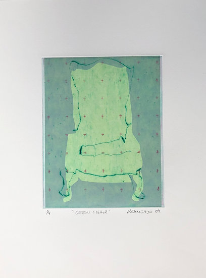 Green Chair 1/4 by Nick Bodimeade