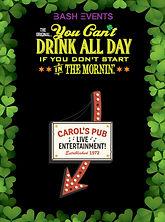St. Patrick's Day Chicago- CAROL PUB