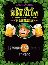 St. Patrick's Day Chicago- George Street