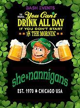 St. Patrick's Day Chicago- Shenannigans