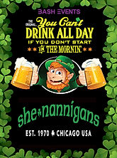 St. Patrick's Day Chicago- Shenannigans