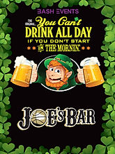 St. Patrick's Day Chicago- Joes on Weed