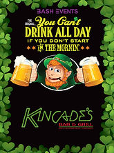 Kincade's Bar &Grill - St. Patrick's Day