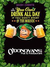 St. Patrick's Day Chicago- O'Donovan's