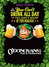 St. Patrick's Day Chicago- O'Donovan's