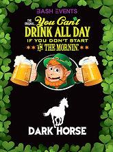 St. Patrick's Day Chicago- DARK HORSE