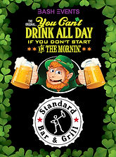 St. Patrick's Day Chicago- The Standard