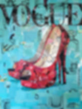 Red Shoe Vogue