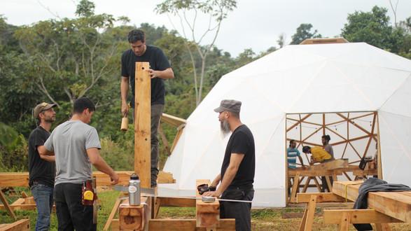 Taller Timber Frame Tabonuco
