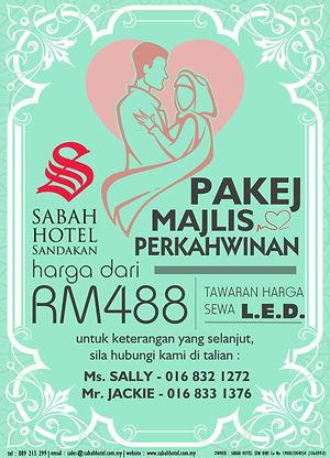 malay wedding package