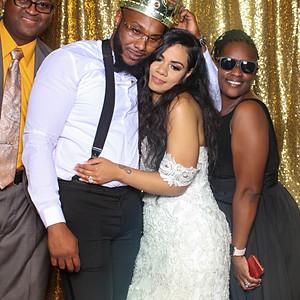 Darnell & Jessica's Wedding (Mirror Booth)