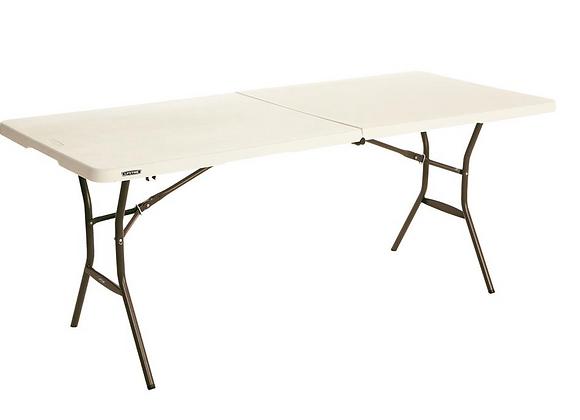6Ft Folding Table (Rental)