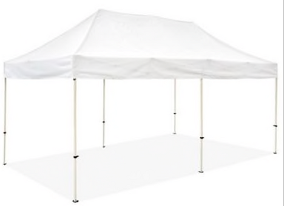 10 by 20ft Pop Up Tent  (Rental)