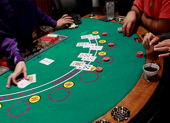 Casino Night Table (Rental)