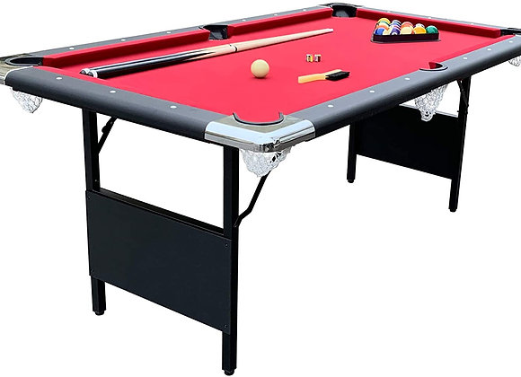 Pool Table With 2 Sticks (Rental) 6ft