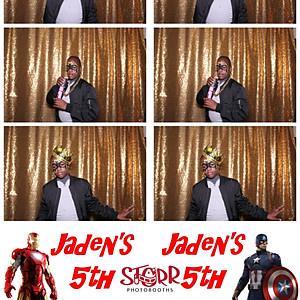 Jaden's 5th Super Hero Bash