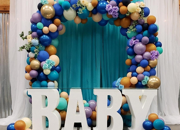 Baby Table (Rental) by @Blissfulmoments