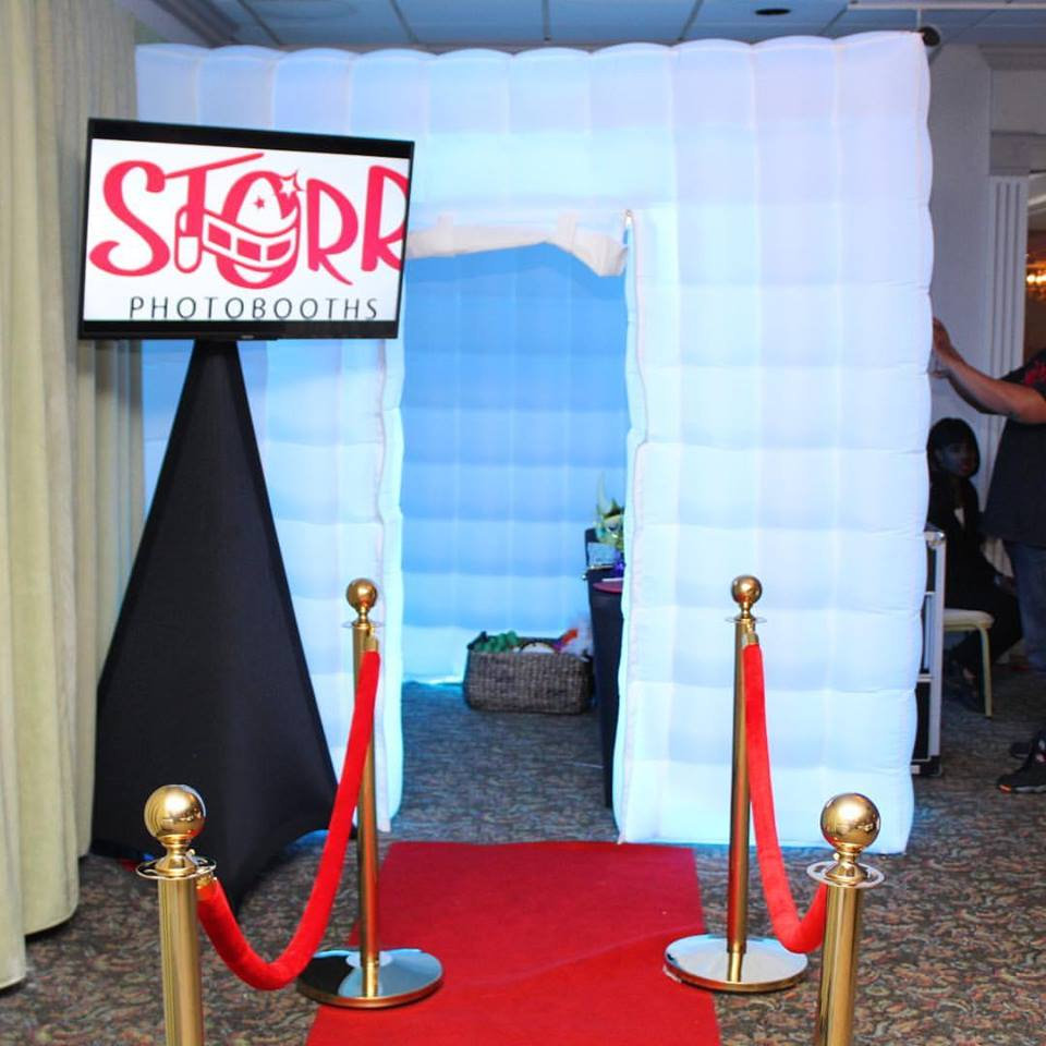 Inflatable LED Booth