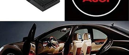 Audi Door logo set of Two AUTO PARTS ONLINE SA