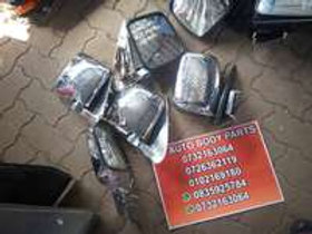 toyota hiace / quantum right and left side mirror AUTO PARTS ONLINE SA