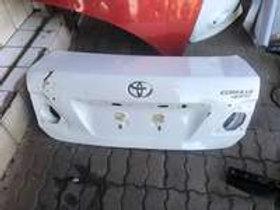 Toyota corolla quest bootlip AUTO PARTS ONLINE SA