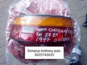 Toyota corolla quest / tazz tail light AUTO PARTS ONLINE SA