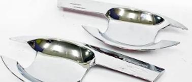 Isuzu D-Max Door Handle Bowls (chrome)