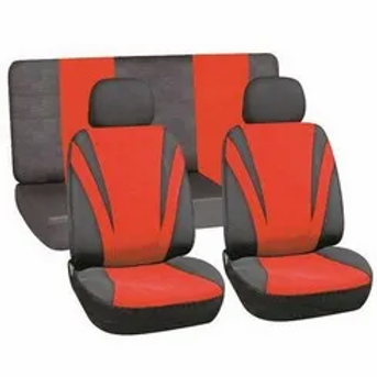 Universal Seat Cover (6 Piece) - Red AUTO PARTS ONLINE SA