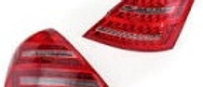Car Rear LED Tail Light Brake Lamp Pair for Mercedes-Benz W221 S-Class 2007-2009