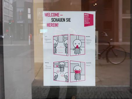 ベルリンでのコロナウイルス対策の現状
