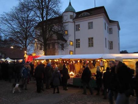 (ベルリンのクリスマスマーケット)地元密着型の「ヴァーン湖狩猟館」のクリスマスマーケット