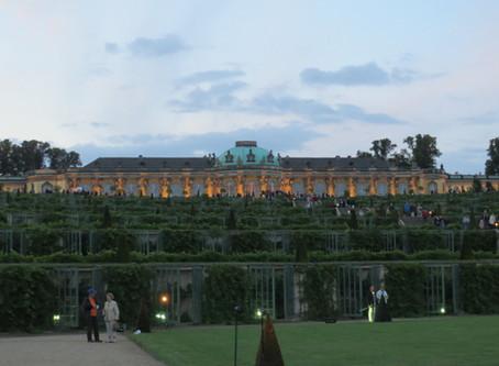 ポツダムのサンスーシ宮殿2020年6月9日に再オープン