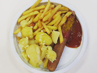 189!! Wednesday is always currywurst!