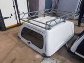 Blindside workers canopy for Nissan np200 with industrial roof rack AUTO PARTS ONLINE SA