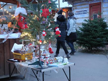 2020年もクリスマスマーケットの雰囲気を楽しめるシュペート育苗場のマーケット