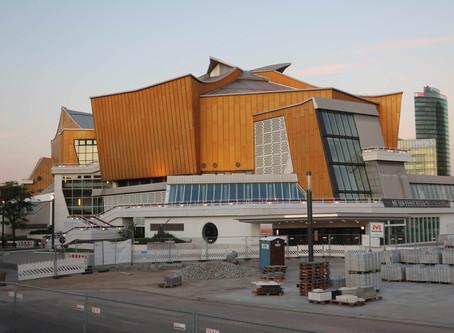 ベルリン・フィルハーモニーでのコンサートの開催状況