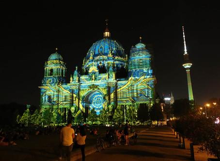 (ベルリンのイベント)2020年「光の祭典ベルリン(Festival of Lights)」レポート