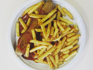 wednesday is currywurst day!