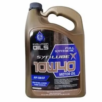 Universal Oil 10w40 Fully Synthetic Oil 5l  0 to 2020 AUTO PARTS ONLINE SA