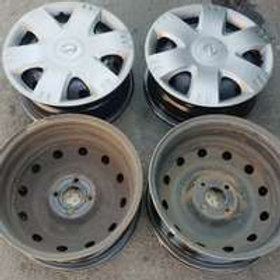 15inch Nissan np200 steel rims and wheel caps AUTO PARTS ONLINE SA