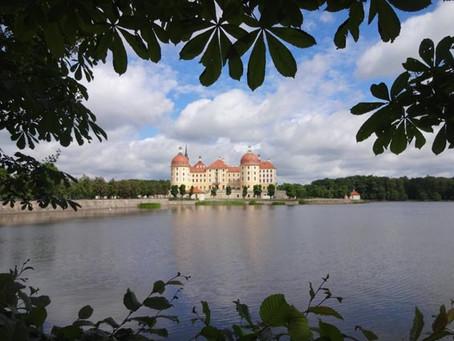 シュロスモーリッツブルクで美しい風景を楽しむ