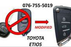 Toyota ETIOS Key SPARE AUTO PARTS ONLINE SA